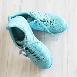 Adidas Originals Women's Superstar glossy Toe